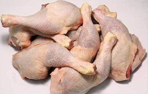 گوشت مرغ گرم و منجمد